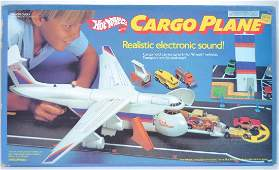 Hot Wheels Cargo Plane Playset in Original Box