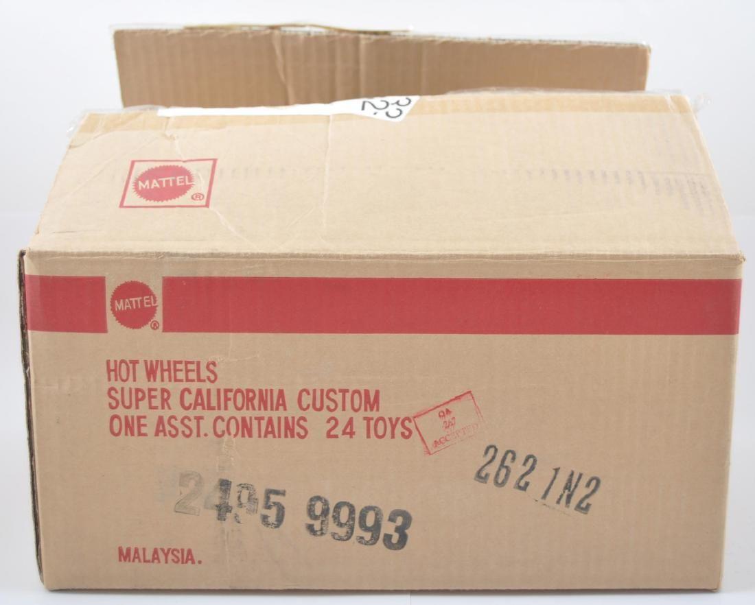 Full Shipping Box of Mattel Hot Wheels Super California