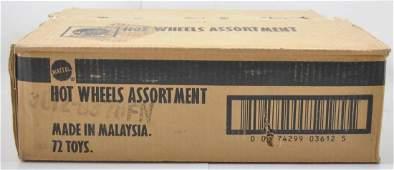 Full Shipping Box of Assorted Mattel Hot Wheels