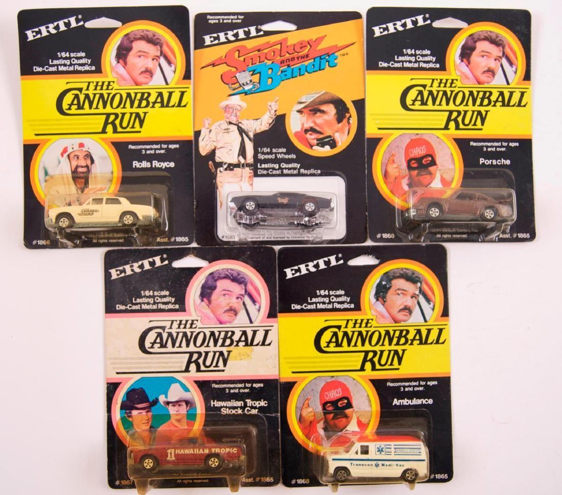 Group of 5 ERTL Die-Cast Vehicles in Original Packaging