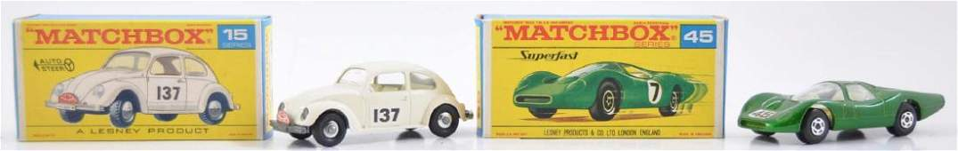 Group of 2 Matchbox Die-Cast Cars with Original Boxes