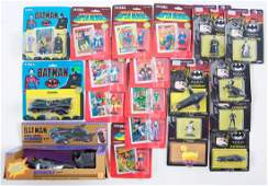 Group of ERTL DC Comics DieCast Figures and Vehicles