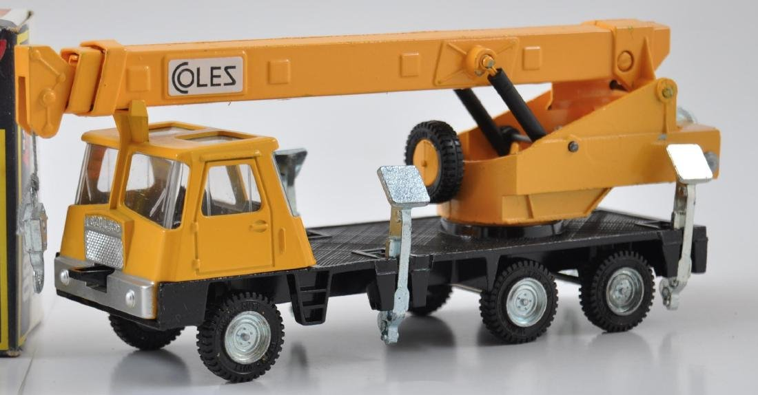 Dinky Toys 980 Coles Hydra Truck 150T Die-Cast Crane - 2