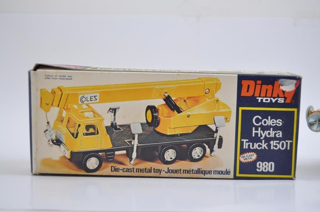 Dinky Toys 980 Coles Hydra Truck 150T Die-Cast Crane - 4