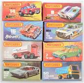Group of 8 Matchbox Superfast Die-Cast Vehicles with