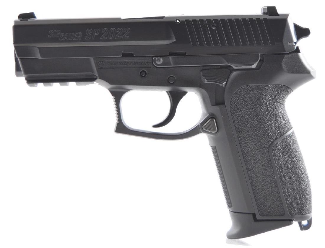 Sig Sauer Model SP2022 9mm Parabellum Cal. Semi Auto