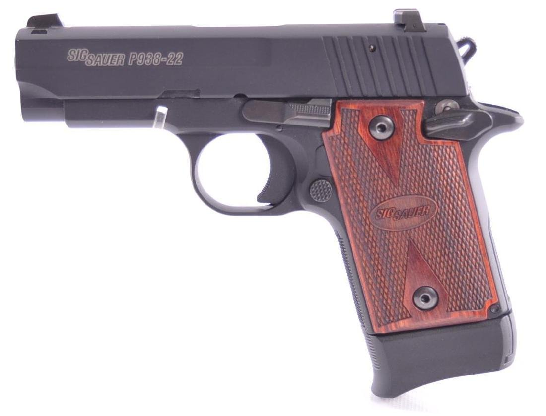Sig Sauer Model P938-22 .22 LR Cal. Semi Auto Pistol