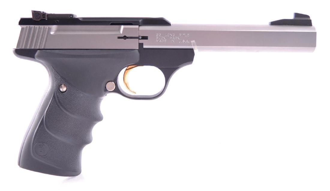 Browning Buck Mark .22 LR. Cal. Semi Auto Target Pistol