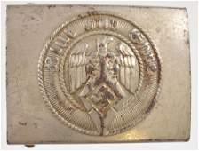 WW2 German Hitler Youth HJ Enlisted Mans Belt Buckle