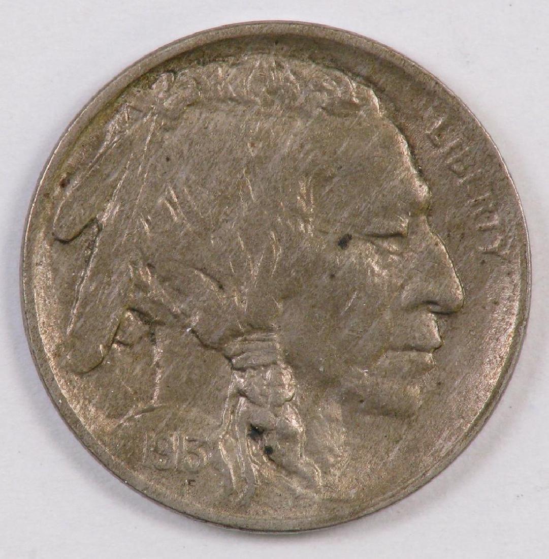 1913 P Ty.2 Buffalo Nickel.