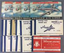Group of Vintage American and Eastern Airlines