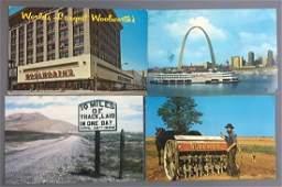 PostcardsGroup of 900 U S Views
