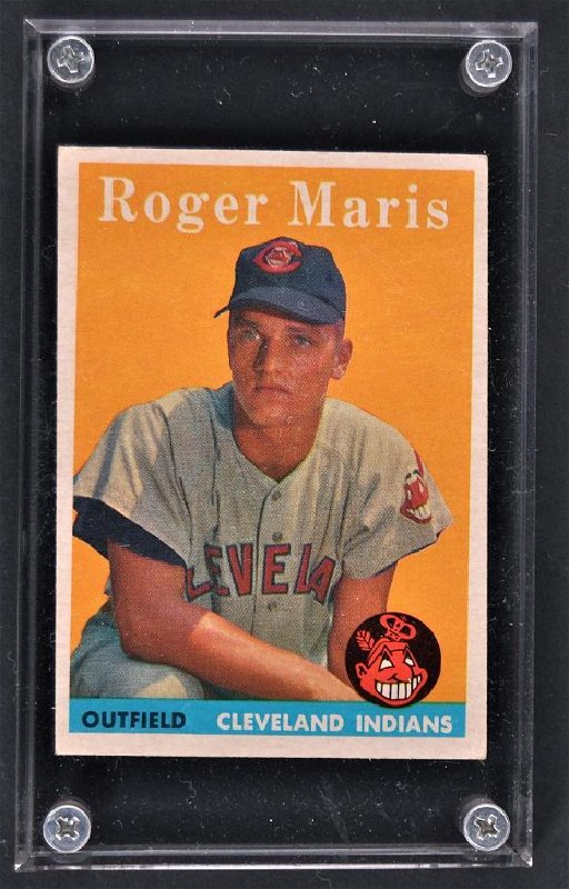 1958 Topps Roger Maris Baseball Card