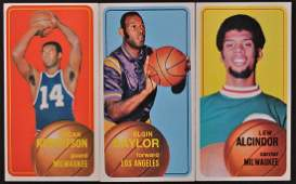 Group of 3 1968 Topps Basketball Cards