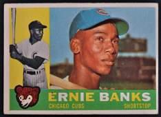 1960 Topps Ernie Banks Baseball Card