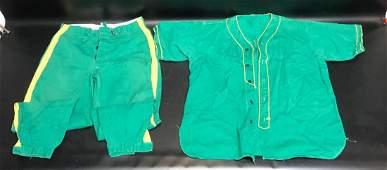 Vintage Precision Scientific Co Baseball Team Uniform