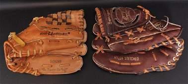Group of 2 Vintage Baseball Gloves