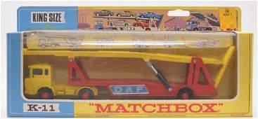Matchbox King Size K-11 DAF Car Transporter Die-CAst