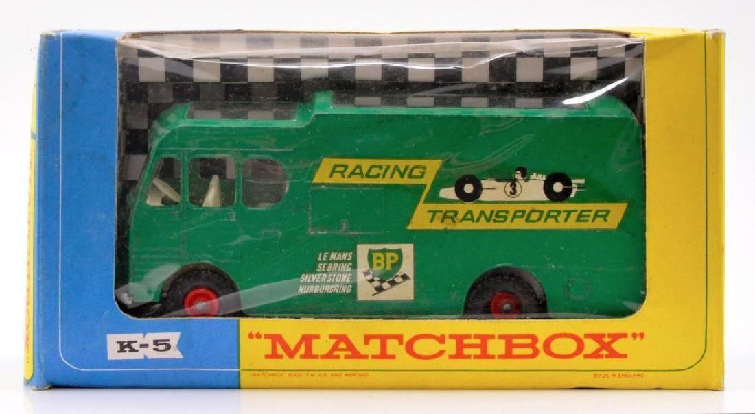 Matchbox King Size K-5 Racing Car Transporter Die-Cast