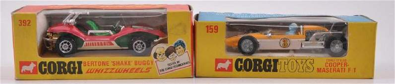 Group of 2 Corgi Toys DieCast Vehicles in Original
