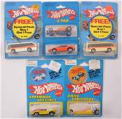 Group of 5 Hot Wheels DieCast Vehicles in Original