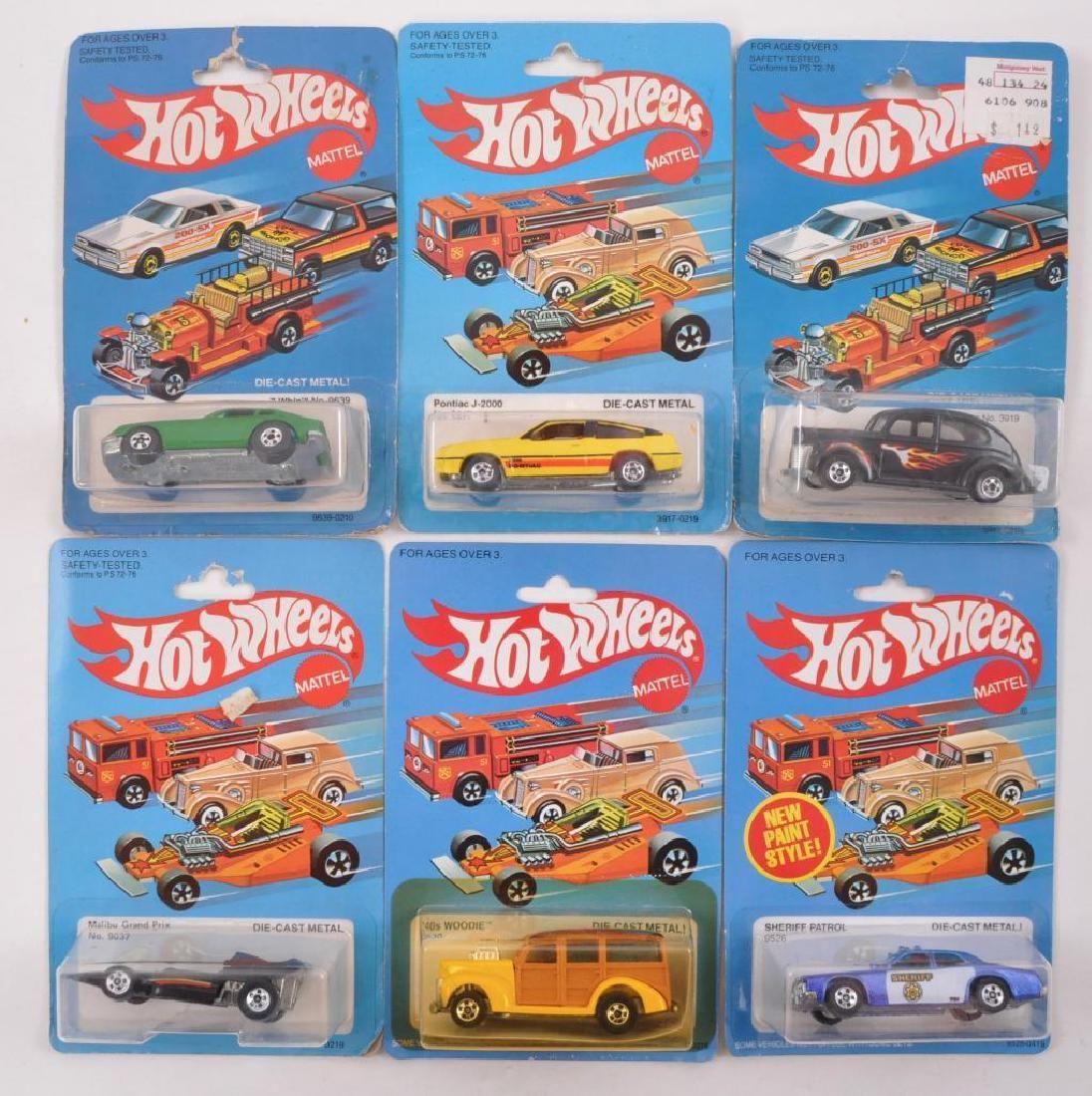 Group of 6 Hot Wheels Die-Cast Vehicles in Original
