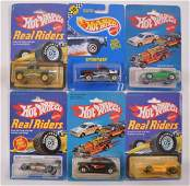 Group of 6 Hot Wheels DieCast Vehicles in Original