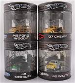 Group of 4 Hot Wheels Die-Cast Vehicles in Collector
