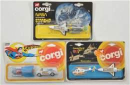Group of 3 Corgi Junior Die-Cast Vehicle 2 Packs in