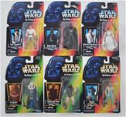 Group of 6 1995 Kenner Star Wars Power of the Force
