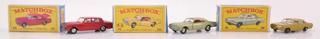 Group of 3 Matchbox Die-Cast Cars with Original Boxes