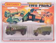 Matchbox Two Packs TP-14 Die-Cast Vehicle Gift Set in