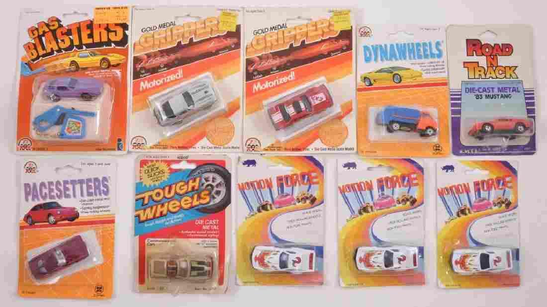 Group of 10 Die-Cast Vehicles in Original Packaging