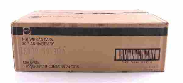 Full Shipping Box of Mattel Hot Wheels 30th Anniversary