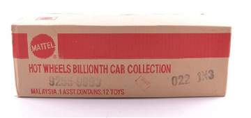 Full Shipping Box of Mattel Hot Wheels DieCast Cars