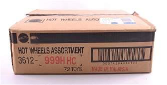 Full Shipping Box of Mattel Hot Wheels Batmobiles