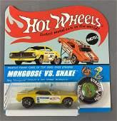 Hot Wheels Redline Snake Die-Cast Car In Original