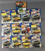 Group of 13 Hot Wheels Editors Choice DieCast Vehicles