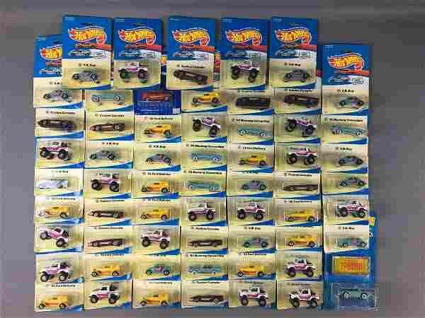 Group of 60 Hot Wheels Die-Cast Vehicles In Original