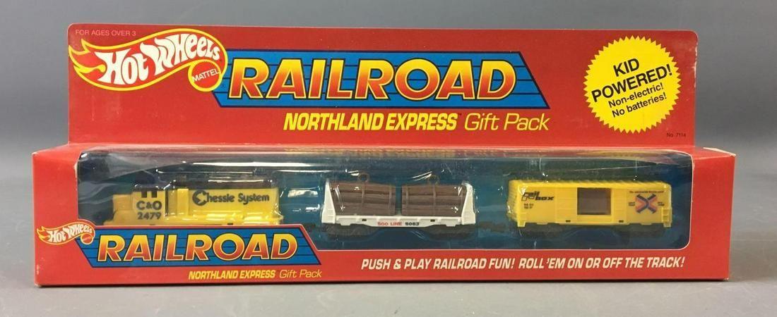 Hot Wheels Die-Cast Railroad Northland Express Gift