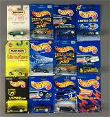 Group of 12 Hot Wheels and Matchbox Die-cast Vehicles