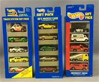 Group of 3 Hot Wheels DieCast Vehicles 5 Pack Gift
