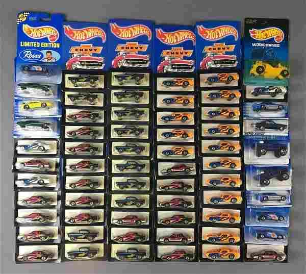 Group of 65 Hot Wheels Die-Cast Vehicles In Original