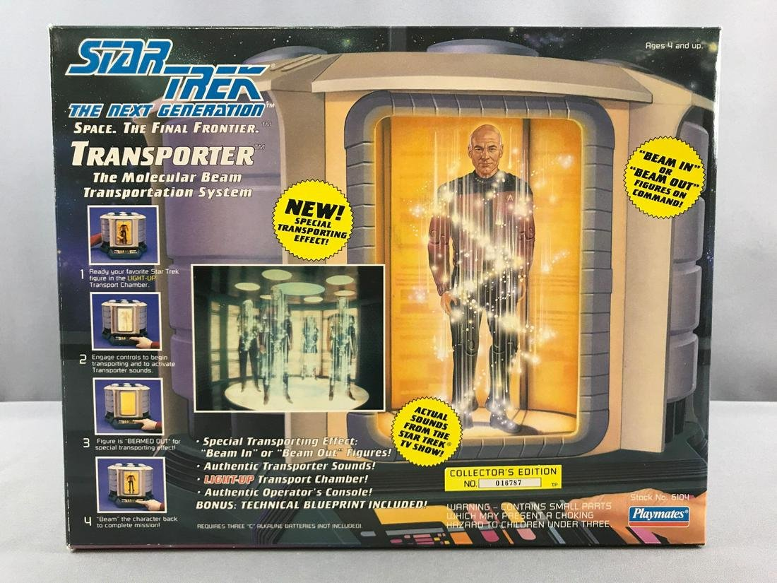 Star Trek The next Generation Transporter in Original
