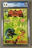 CGC Graded 7.5 DC Comics Batman with Robin No. 232