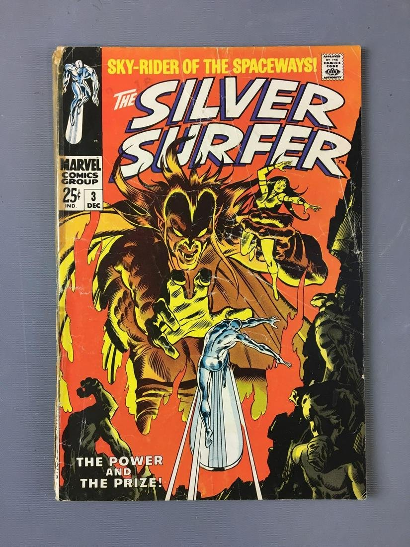 Marvel Comics The Silver Surfer No. 3 Comic