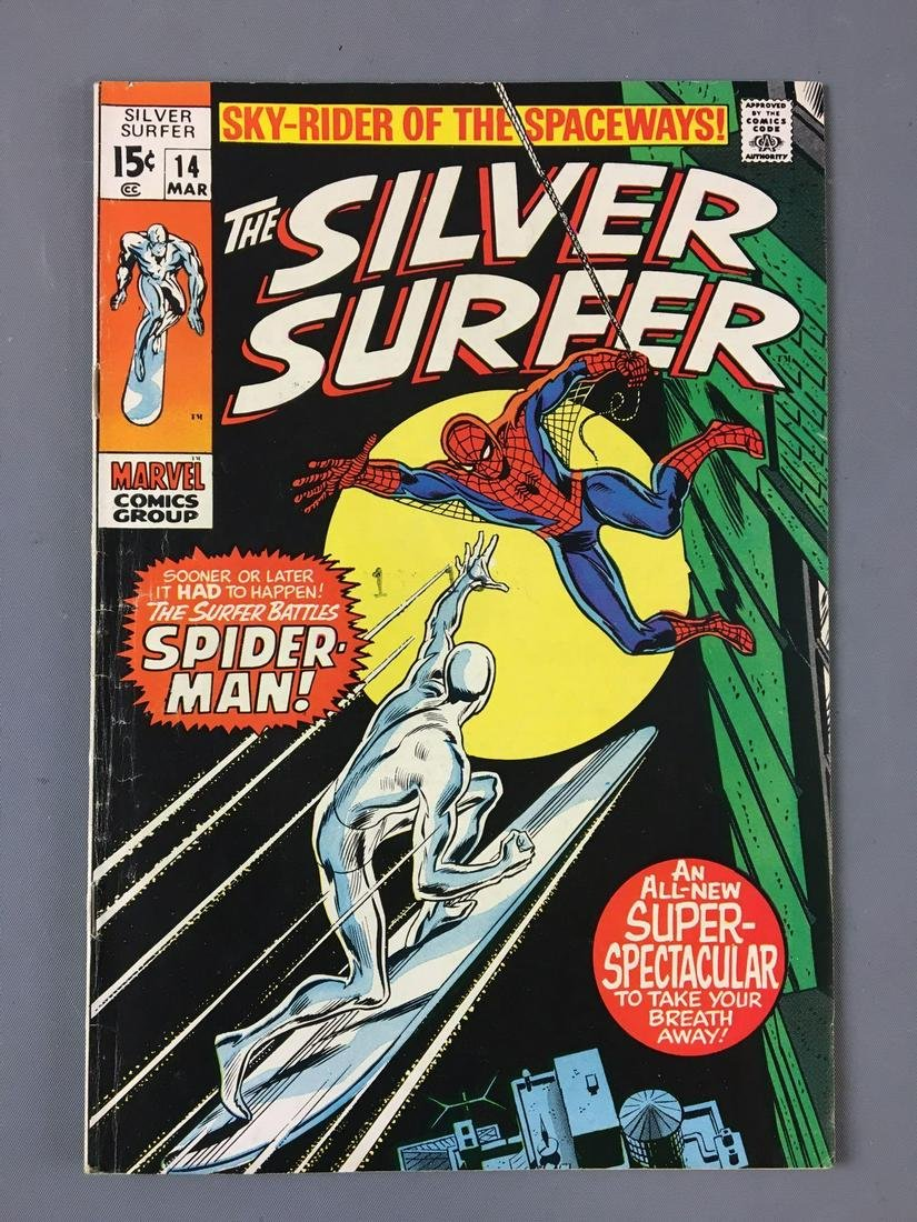 Marvel Comics The Silver Surfer No. 14 Comic