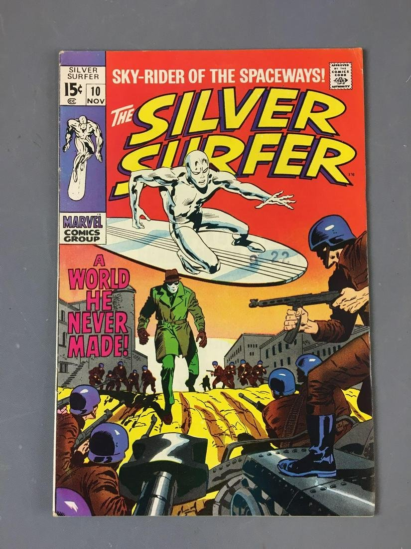 Marvel Comics The Silver Surfer No. 10 Comic
