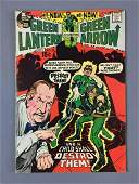 DC Comics Green Lantern and Green Arrow No 83 Comic