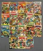 Group of 18 Marvel The Avengers Comic Books